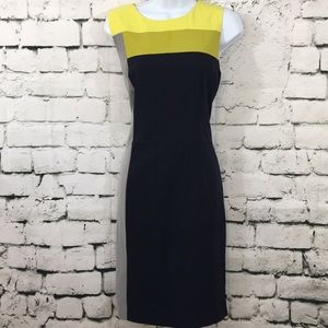 Beautiful color block Calvin Klein dress